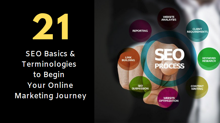 21 SEO Basics & Terminologies to Begin Your Online Marketing Journey